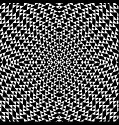 Black and white geometrical background vector