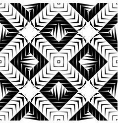 Design seamless square pattern vector