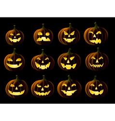 Jack o Lantern vector image vector image
