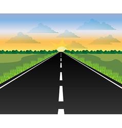 Road design vector