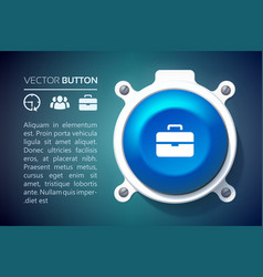 Web user interface infographic template vector
