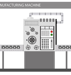 Machine factory vector