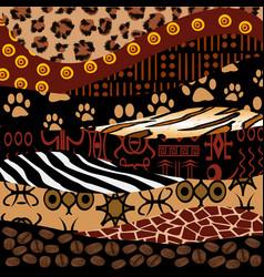 african design vector image vector image