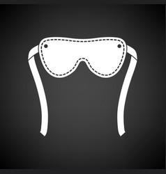 Sex eyes bandage icon vector