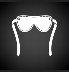 sex eyes bandage icon vector image vector image