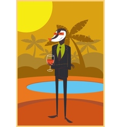 Cocktail party vector