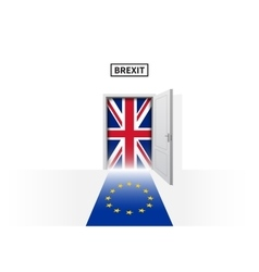 Brexit referendum in great britain british and vector