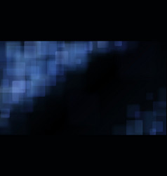 Light blue abstract background of blurry squares vector