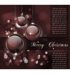 Christmas suggestive background vector image