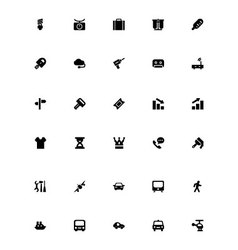 Mini icons 15 vector