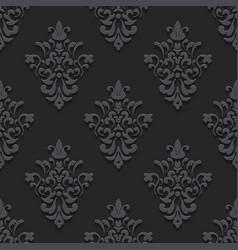 Elegant luxury texture black with shadows vector