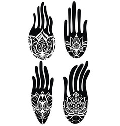 Hamsa collection vector