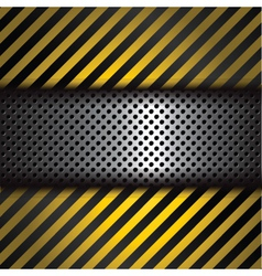 perforated metal vector image vector image