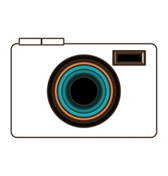 photo camera icon design graphic vector image vector image