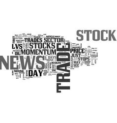 Better trades momentum part iii text word cloud vector