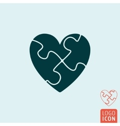 Heart icon isolated vector