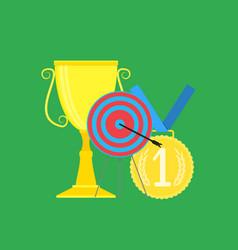 sport successful vector image