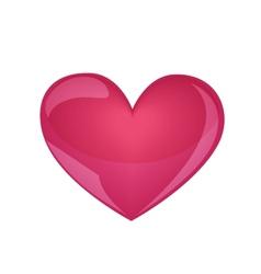 big heart vector image