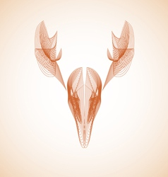 Abstract deer vector