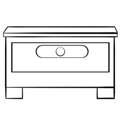 Drawer vector