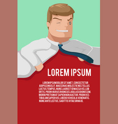Business man office background template vector