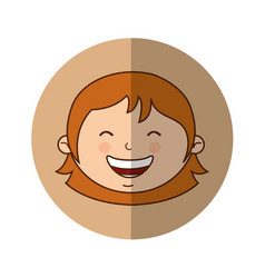 Cute mother character icon vector