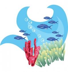 fish design vector image vector image