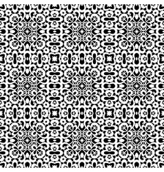 White lace pattern vector image