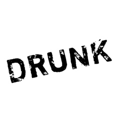 Drunk rubber stamp vector