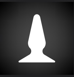 anal bung icon vector image
