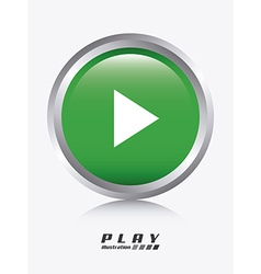 play design vector image