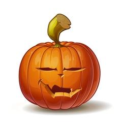 Pumpkins Vimpire 4 vector image vector image