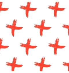 cross sign pattern Abstract background vector image