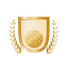 Golf game sport vector