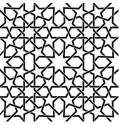 moroccan tiles pattern moorish seamless vector image vector image