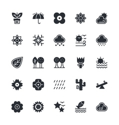 Nature Park Icons 2 vector image vector image