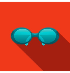 Glasses icon elements for design vector