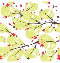 background with tree vector illustration vector image