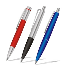 pens vector image vector image