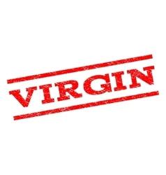 Virgin watermark stamp vector