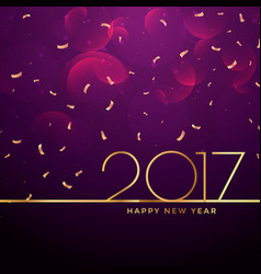 2017 new year celebration background vector