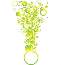 bubble shape vector image
