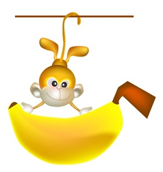 Big banana vector