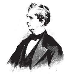 William h seward vintage vector