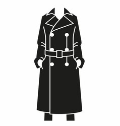 Woman cloak vector
