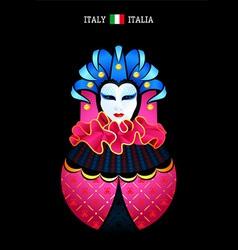 Matryoshka Italy vector image