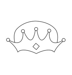 Wise man crown epiphany design vector