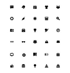 Mini icons 17 vector