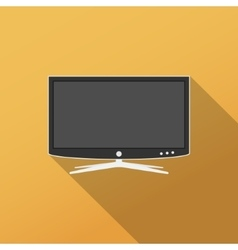 Smart tv icon vector