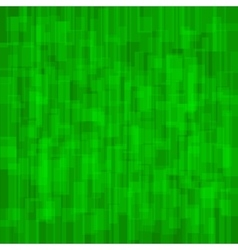 Abstract Green Background with Rectangles vector image vector image